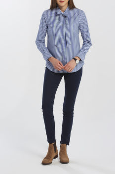 KOŠILE GANT D1. TP BC STRIPED BOW BLOUSE