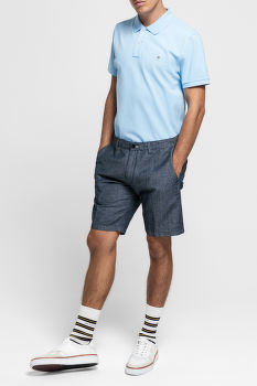 ŠORTKY GANT D1. THE CHAMBRAY SHORT