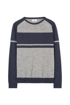 SVETR GANT G. STRIPED CREW NECK