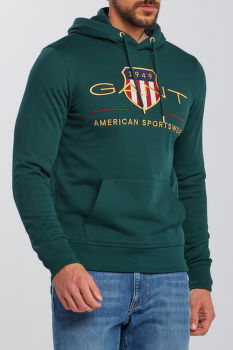 MIKINA GANT D1. ARCHIVE SHIELD HOODIE