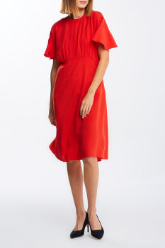 ŠATY GANT D1. TWILL KNEE DRESS