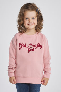 MIKINA GANT D1.GIRL ALMIGHTY C-NECK SWEAT