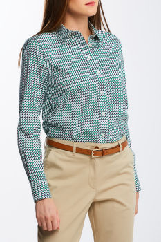 KOŠILE GANT D1. GEO STRETCH BC SHIRT