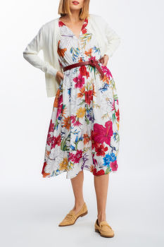 ŠATY GANT D2. HUMMING FLORAL DRESS