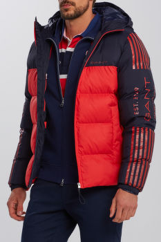 BUNDA GANT D1. 13 STRIPES BLOCK PUFFER JACKET