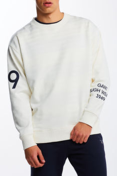 MIKINA GANT D1. RW GRAPHIC C-NECK SWEAT