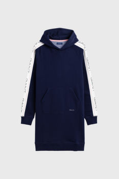 ŠATY GANT O1. GANT ICON SWEAT HOODIE DRESS