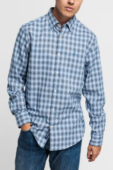 KOŠILE GANT D1. TP OXFORD PLAID REG HBD