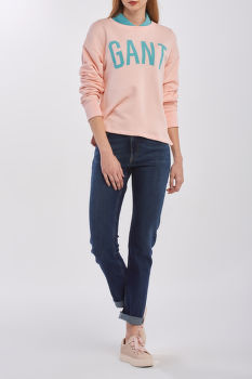 MIKINA GANT D2. SUMMER GRAPHIC C-NECK SWEAT
